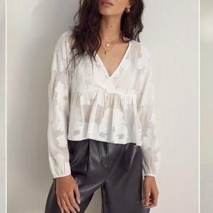 Wilfred Peplum blouse